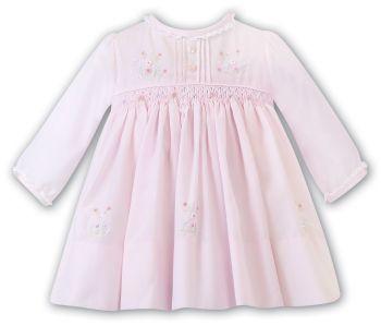 Girls Sarah Louise Dress 012454 Pink