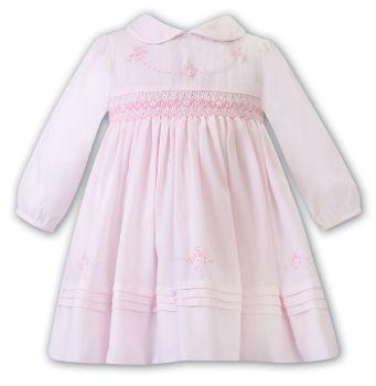 Girls Sarah Louise Dress 012470 Pink