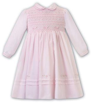 PRE ORDER - Girls Sarah Louise Dress 012477 Pink