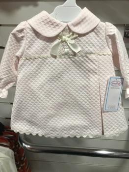 Girls Eva Class Pink Dress and Pants 12019