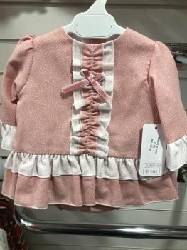 Girls Eva Class Pink Dress and Pants 12013