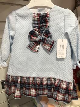 Girls Eva Class Blue Dress 12412