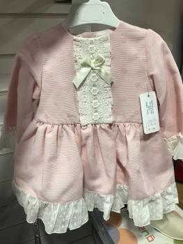 Girls Eva Class Pink Dress 12409