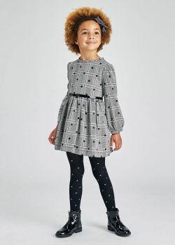 Girls Mayoral Dress 4923 Black 63