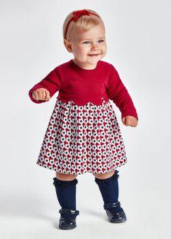 Girls Mayoral Dress 2911 Raspberry 96