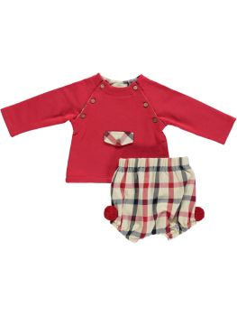 Boys Deolinda Outfit DBI21514 Red