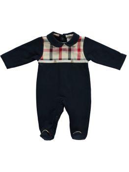 Boys Deolinda Babygrow DBI21301 Navy