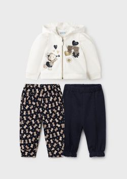 Girls Mayoral Tracksuit 2896 Navy 43 - 3 Pieces