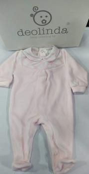 Girls Deolinda Babygrow DBI21307 Pink