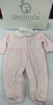Girls Deolinda Babygrow DBI21319 Pink