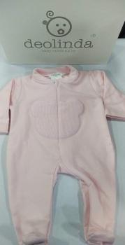 Girls Deolinda Babygrow DBI21316 Pink