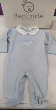 Boys Deolinda Babygrow DBI21321 Blue