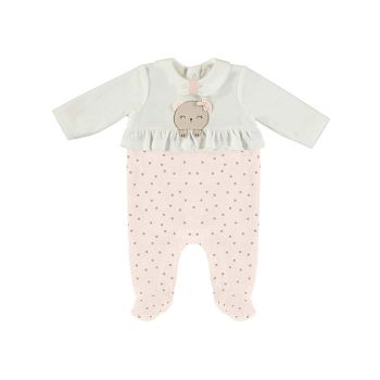Girls Mayoral Babygrow 2663 Baby Rose