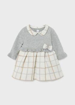 Girls Mayoral Dress 2816 Grey 47
