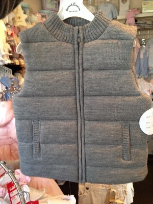 Boys Sarah Louise Bodywarmer