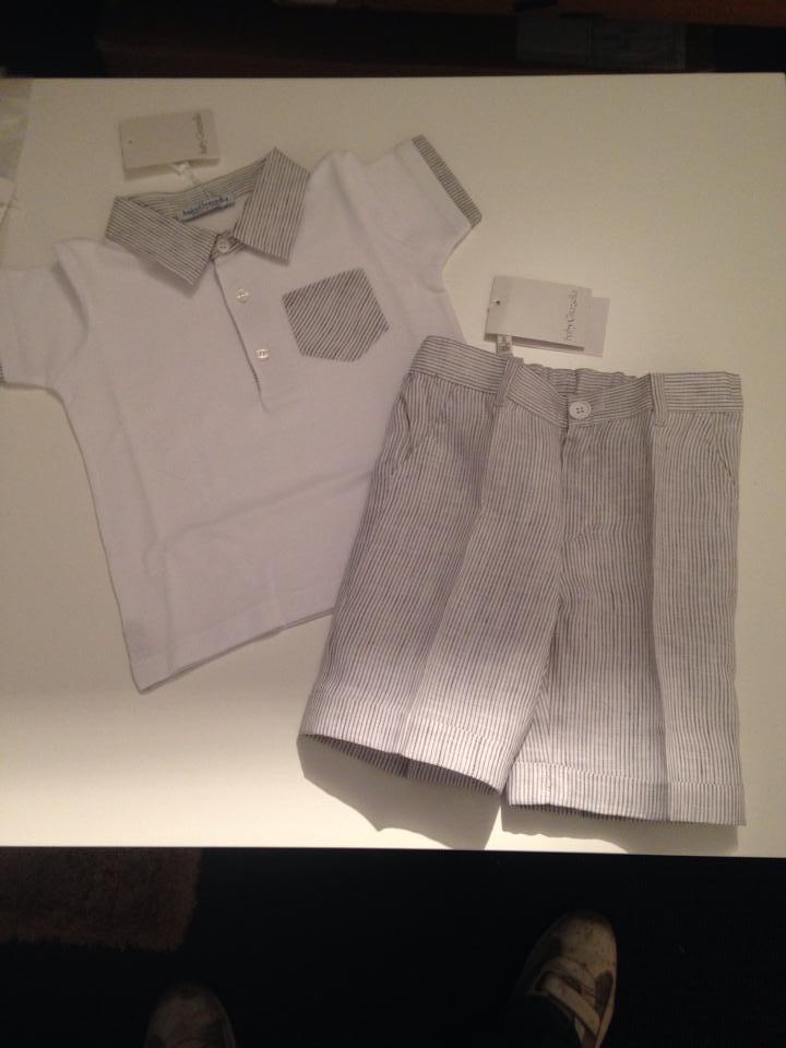Boys Baby Graziella T Shirt and Shorts