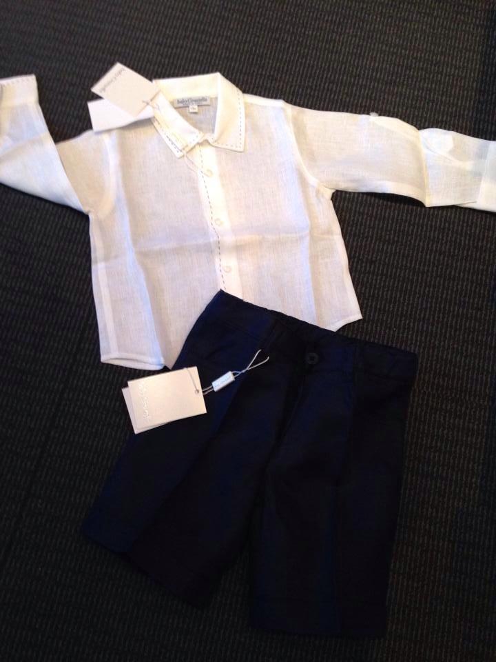 Boys Baby Graziella Shirt and Shorts