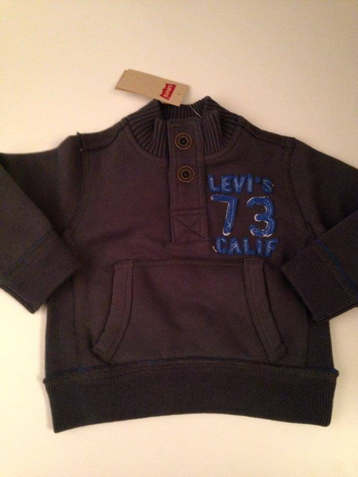 Boys Levis Sweater