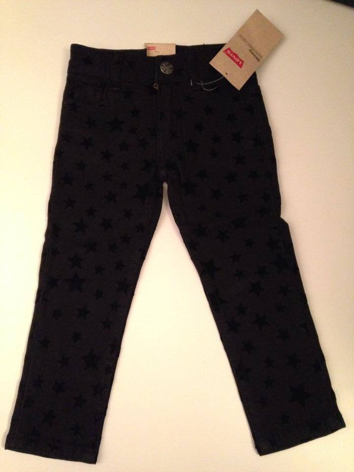 Girls Levis Jeans Skinny Fit - Star Pattern