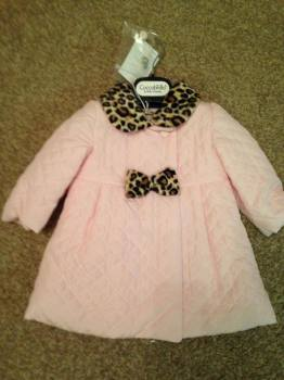 CLEARANCE PRICE Girls Coccobirillo by Baby Graziella Pink Coat
