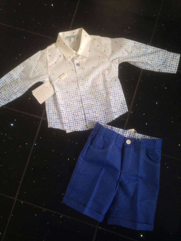 Boys Baby Graziella 2 Piece Set