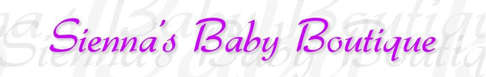 Sienna's Baby Boutique, site logo.