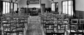 Old Mission Church Interior pre 1956