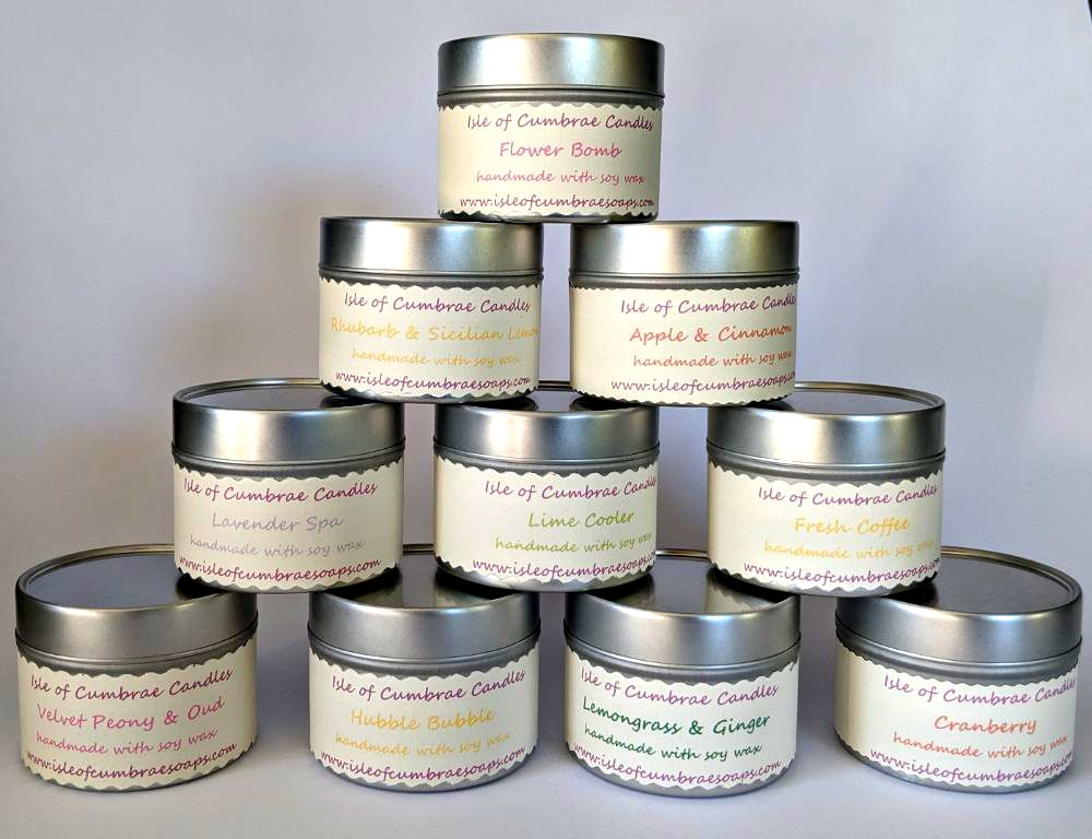 ISLE OF CUMBRAE CANDLES