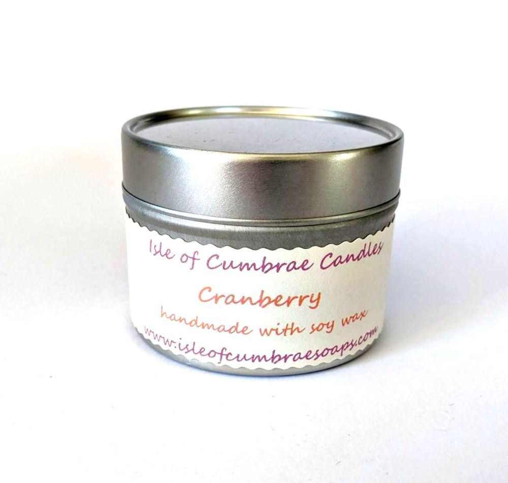 Cranberry Soy Candle