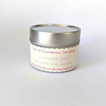 Lavender Spa Soy Candle