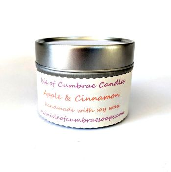 Apple and Cinnamon Soy Candle