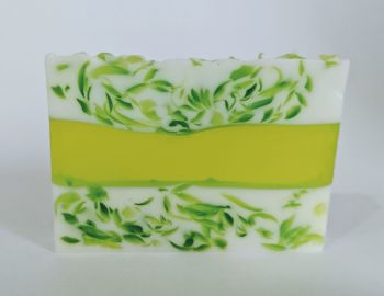 Lemongrass and Ginger Soap Slice