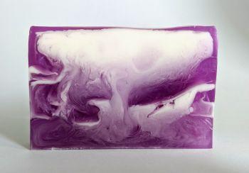 Purple Rain Soap Slice