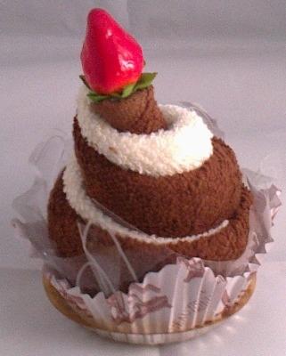 Cream Bun Towel Cake