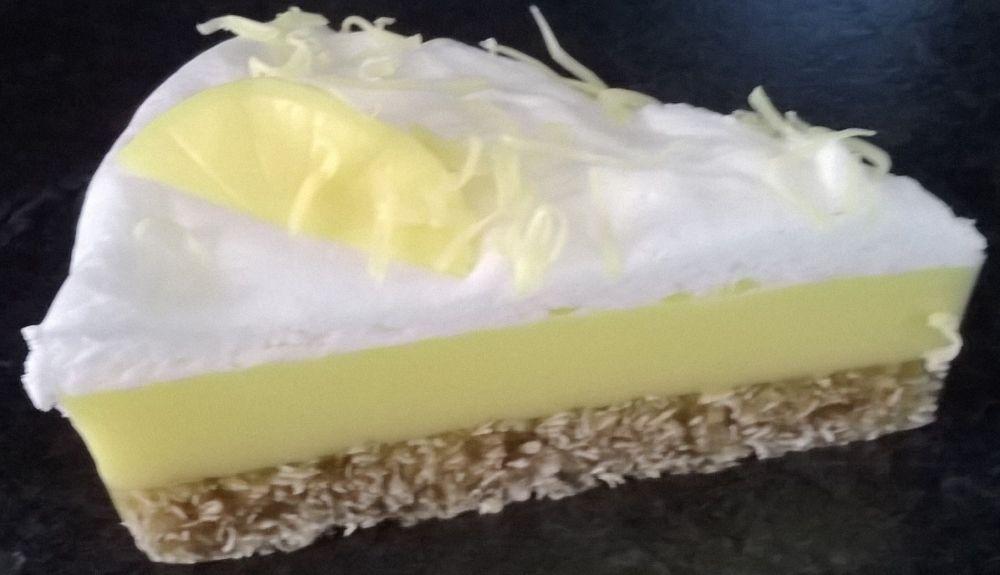 Lemon Cheesecake Soap