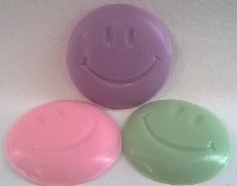 Smiley Face Soaps