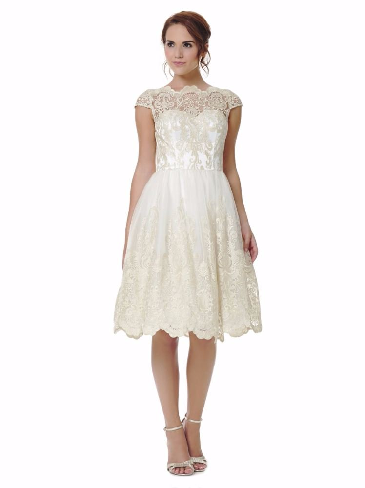 Wedding dresses in stock