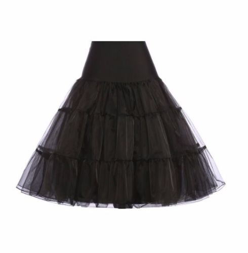 Black underskirt/pettiocoat
