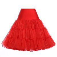 "Red 25"" underskirt/pettiocoat"
