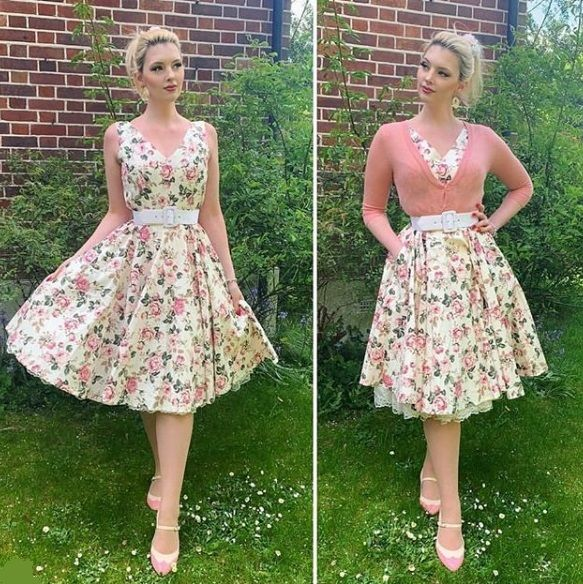 Lily Rose floral dress