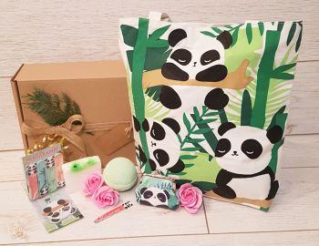 Large Panda gift box