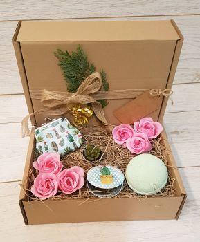 Small cactus gift box