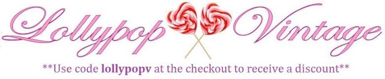 Lollypop vintage, site logo.