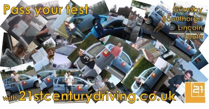 Pass your driving test with lessons in Grimsby, Scunthorpe, Louth or Lincoln with driving lessons from 21st Century Driving