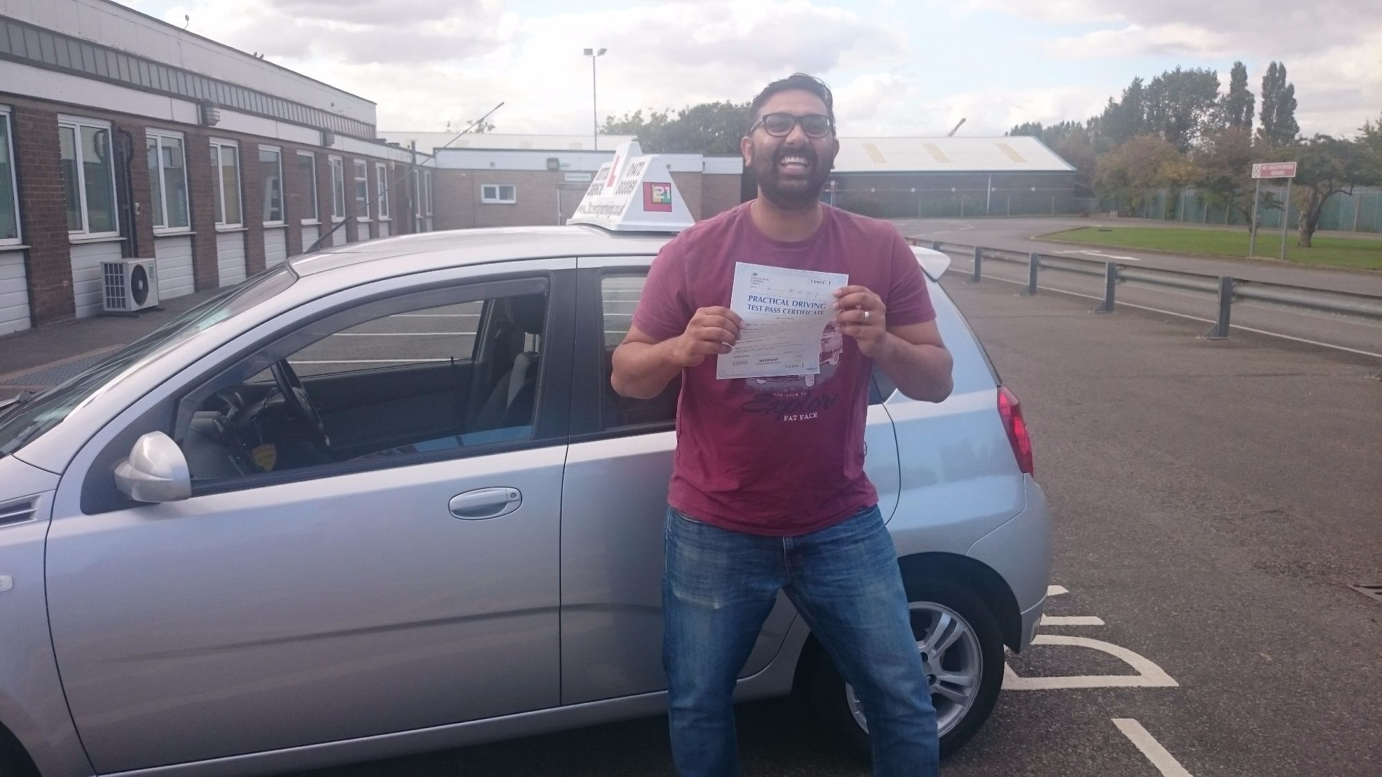 Dr Tajinder Khera took his driving lessons and passes his test in Grimsby with 21st Century Driving