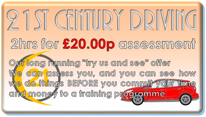 21st century driving 2 for twenty pounds offer