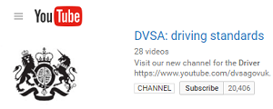 DVSA You tube channel