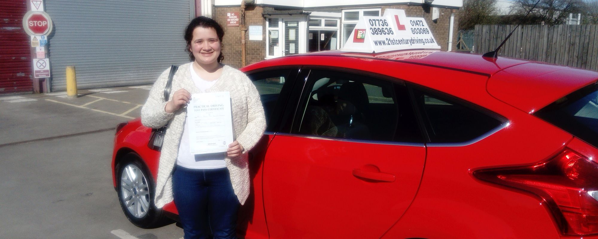 Driving lessons in Grimsby with 21st Century Driving School