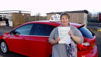 driving lessons grimsby Hazel passes her test with 21st Century Driving
