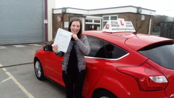 driving lessons grimsby Annette passes her test with 21st Century Driving